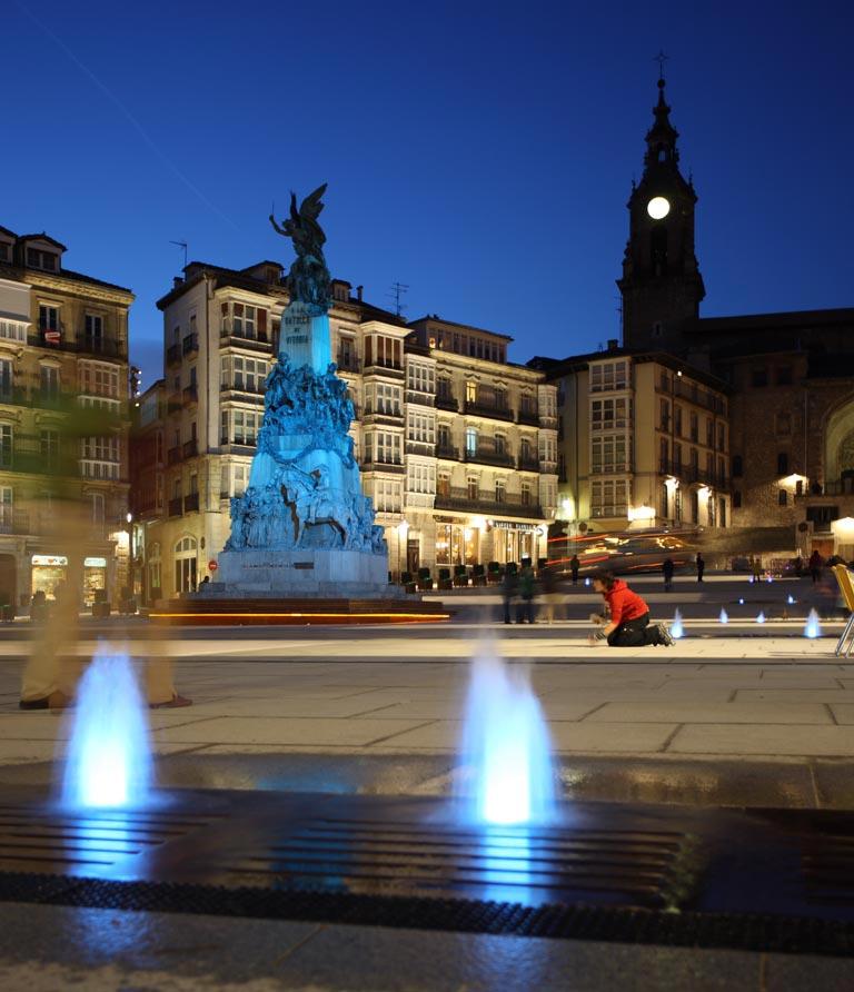 Place de la vierge blanche Vitoria-Gasteiz